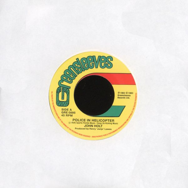 "John Holt - Police In Helicopter/ Youths Pon The Corner [7""]"