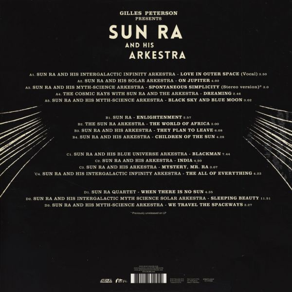 Sun Ra His Myth Science Arkestra When Sun Comes Out