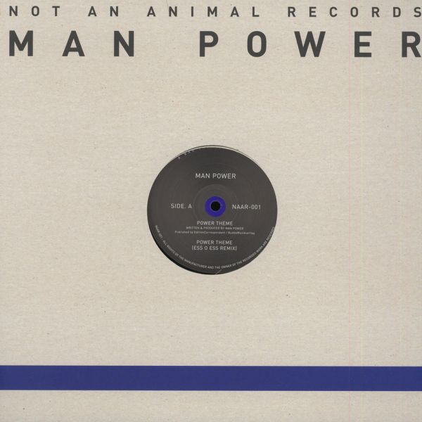 "Man Power - Power Theme [12""]"