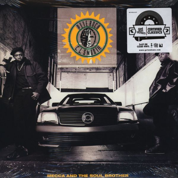Pete Rock - Mecca And The Soul Brother (Clear Vinyl Edition) [2LP]
