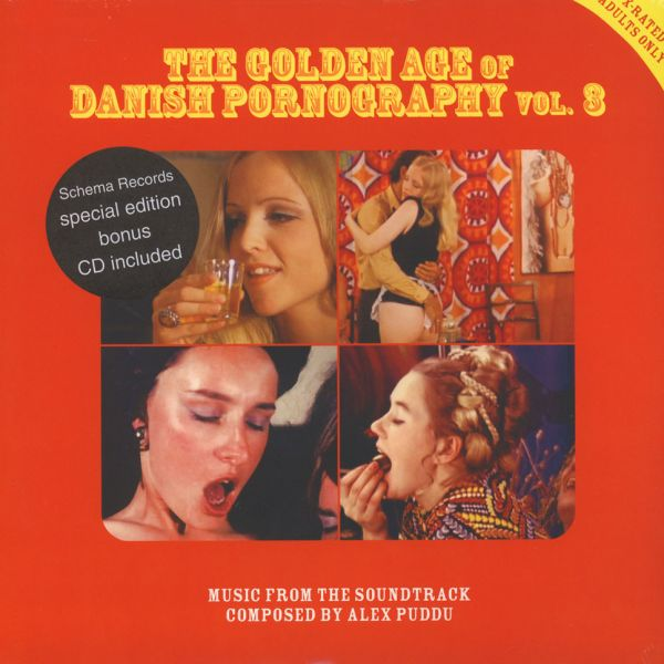 Alex Puddu - The Golden Age Of Danish Pornography 3 [LP+CD]