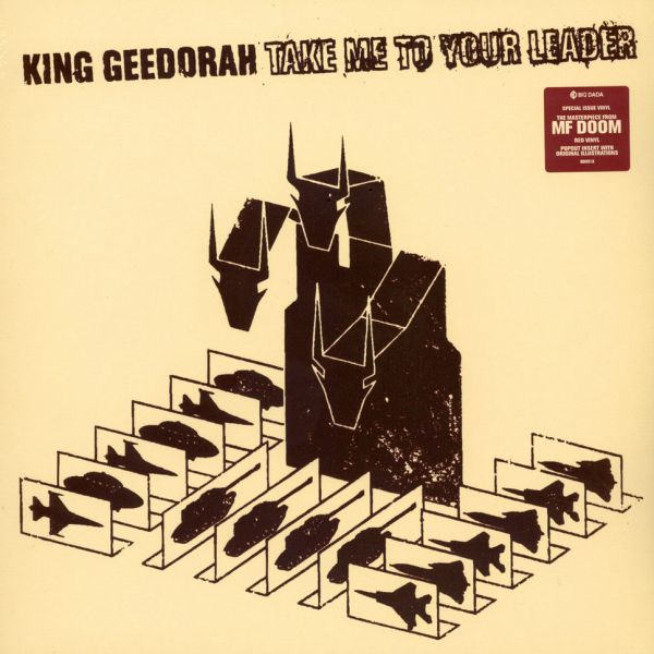 King Geedorah - Take Me To Your Leader (Coloured Vinyl Edition) [2LP]