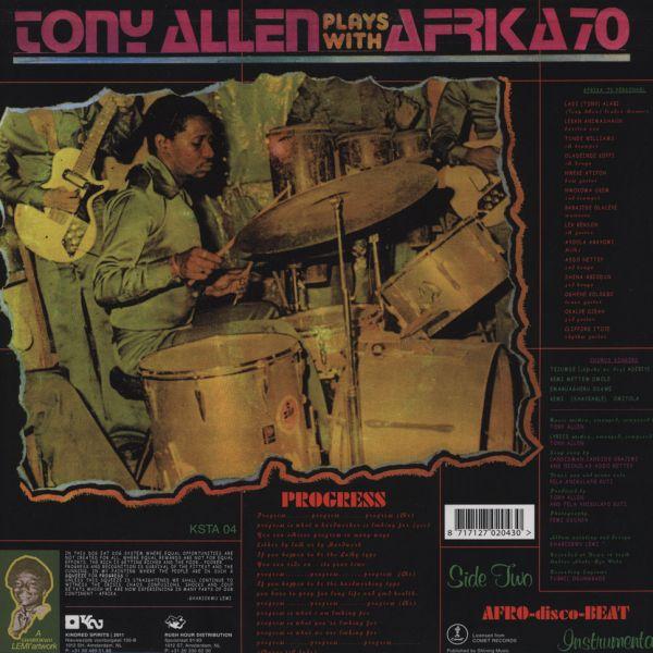 Tony Allen Plays With Afrika 70* Tony Allen Hits With The Africa 70·/ Tony Allen Plays With Afrika 70 - Jealousy / Progress