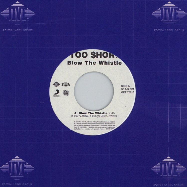 "Too Short - Blow The Whistle [7""]"