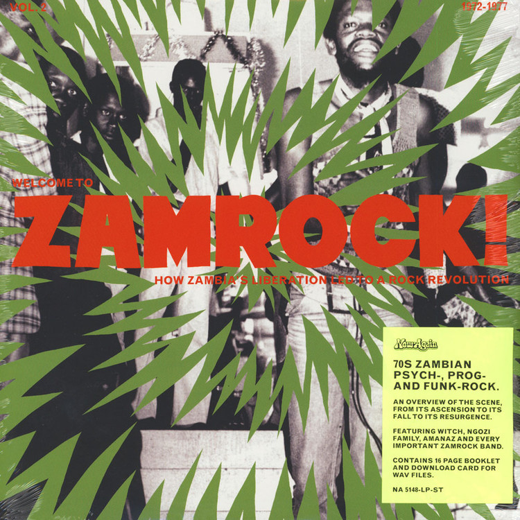 VA - Welcome To Zamrock! How Zambia