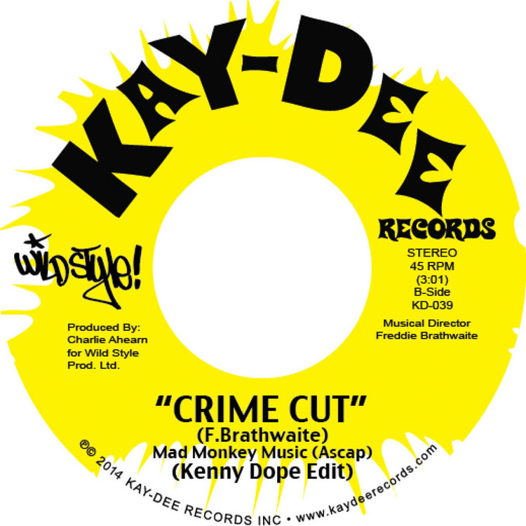 "Kenny Dope - WildStyle Breakbeats: Cuckoo Clocking/ Crime Cut [7""]"