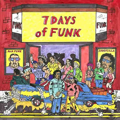 7 Days Of Funk (Dam-Funk & Snoopzilla aka Snoop Dogg) - 7 Days Of Funk [CD]