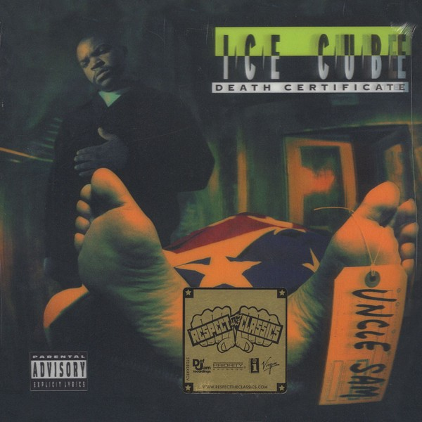 Ice Cube - Death Certificate - 3D Cover Edition [LP]