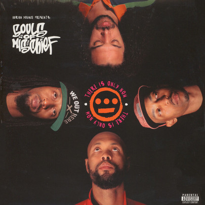 Adrian Younge pres. Souls Of Mischief - There Is Only Now [LP]