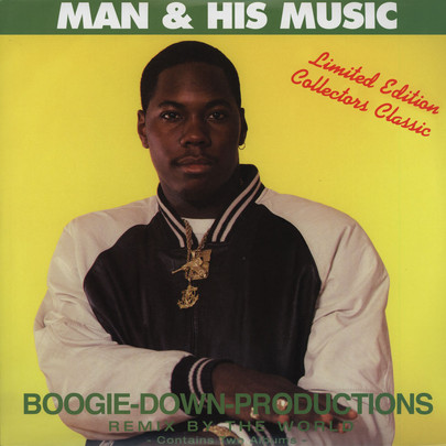 Boogie Down Productions - Man & His Music: Remix By The World [2LP]