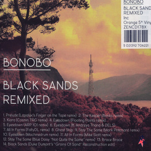 "Bonobo - Black Sands Remixed [CD+5""]"