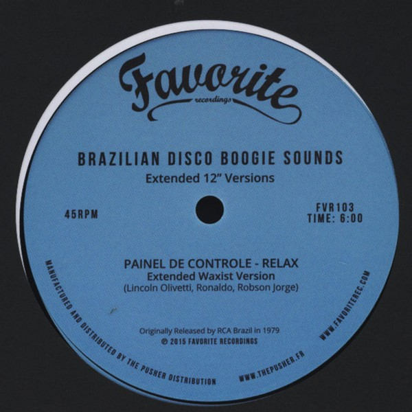 "VA - Brazilian Disco Boogie Sounds - Extended 12"" Versions [12""]"