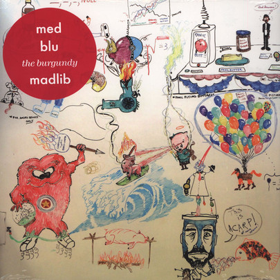 "MED - The Burgundy [12""]"