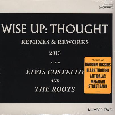 "Elvis Costello & The Roots - Wise Up: Thought - Remixes & Reworks [10""]"