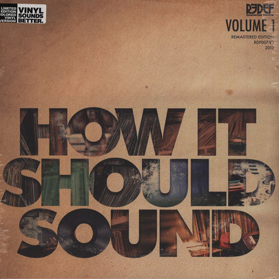 Damu The Fudgemunk - How It Should Sound Vol. 1 [LP]