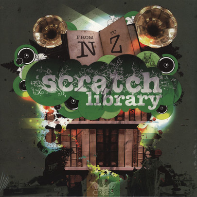 DJ Crates - Scratch Library N-Z [LP]