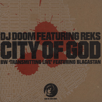 "DJ Doom - City Of God/ Transmitting Live [10""]"