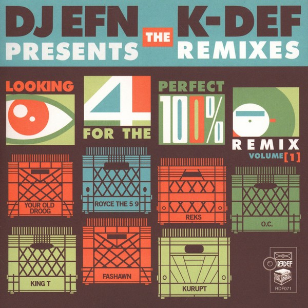 "DJ EFN & K-Def - Looking For The Perfect Remix Volume 1 [7""]"