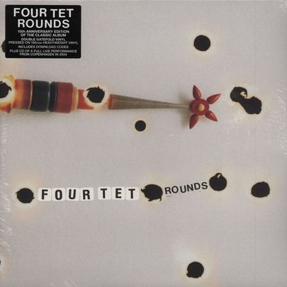 Four Tet Rounds 10th Anniversary Edition 2lp Cd