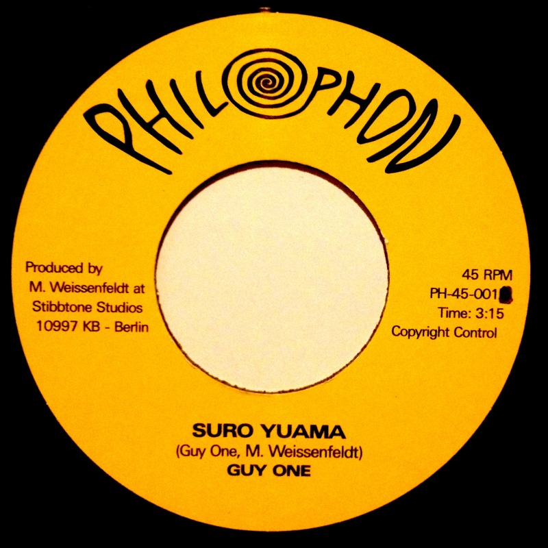 "Guy One - Suro Yuama/ A Me Bayela Do Me [7""]"