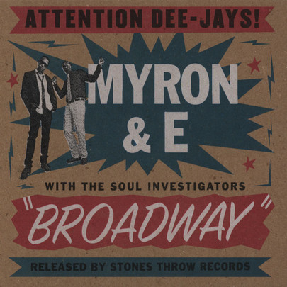 Myron & E with The Soul Investigators - Broadway [CD]