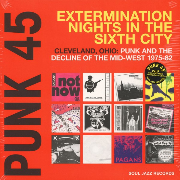 VA - Punk 45: Extermination Nights In The Sixth City [2LP]