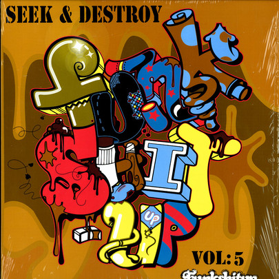 D-Styles, DJ Flare & Mr.Henshaw - Seek & Destroy Vol.5 [LP]