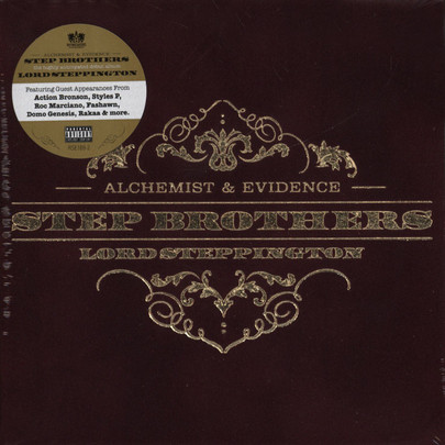Step Brothers (Evidence & Alchemist) - Lord Steppington [CD]