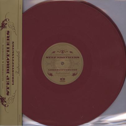 Step Brothers (Evidence & Alchemist) - Lord Steppington (Instrumentals) [2LP]