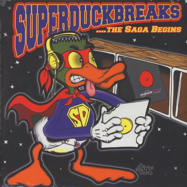 The Turntablist - Super Duck Breaks [LP]