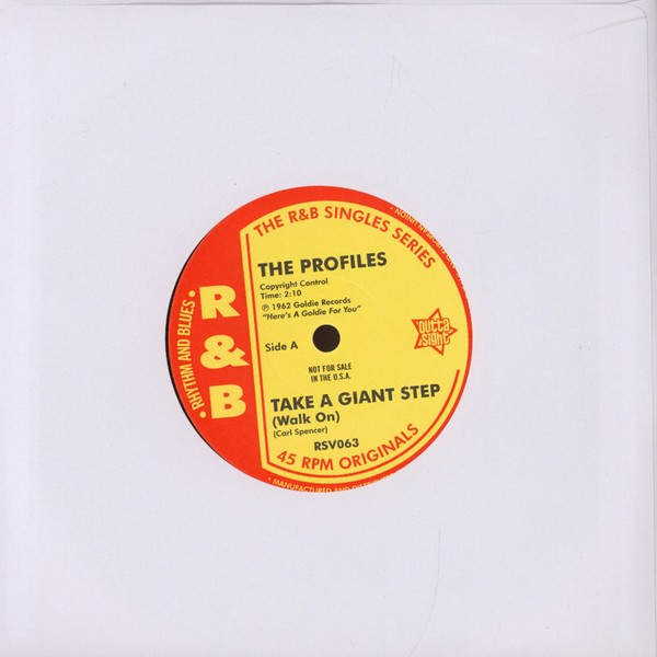"The Profiles/ Johnny Appalachian - Take A Giant Step (Walk On)/ Up In Smoke [7""]"