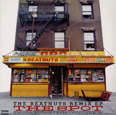 The Beatnuts - The Spot - The Beatnuts Remix EP [LP]