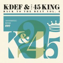 K-Def & The 45 King - Back To The Beat Vol. 2 [LP]