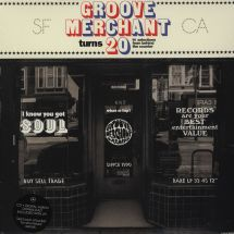 VA - Groove Merchant Turns 20: 14 Selections From Behind The Counter [2LP]