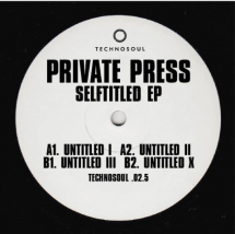 "Private Press - Selftitled EP [12""]"