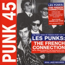 VA - Punk 45: Les Punks: The French Connection - The First Wave Of French Punk 1977-80 [CD]