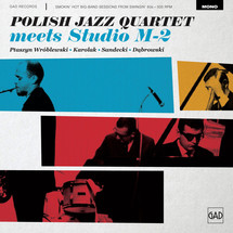 Polish Jazz Quartet - Meets Studio M-2 [LP]