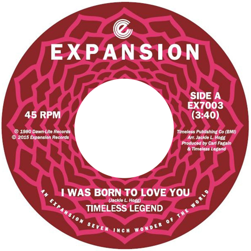 "Timeless Legend - I Was Born To Love You [7""]"