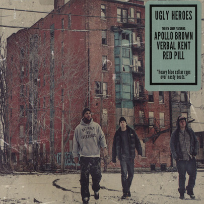 Ugly Heroes (Apollo Brown, Verbal Kent & Red Pill) - Ugly Heroes [CD]