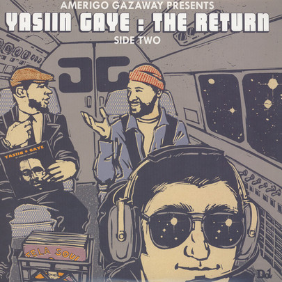 Yasiin Gaye (Yasiin Bey aka Mos Def vs Marvin Gaye) - Yasiin Gaye: The Return [2LP]