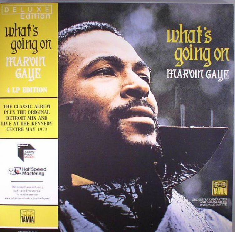 7fcbe96f8e Marvin Gaye - What s Going On (Half Speed Remastered Deluxe Edition ...