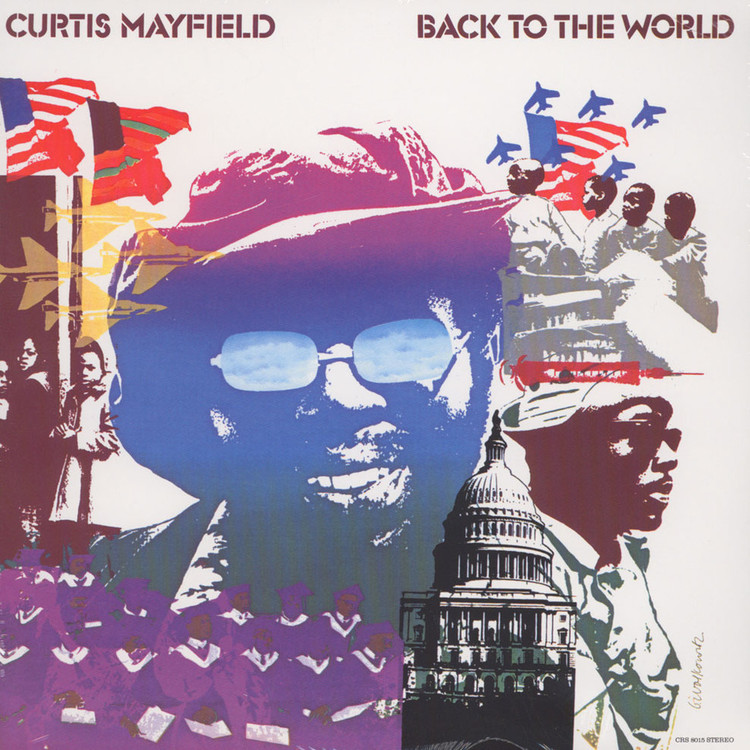 Curtis Mayfield - Back To The World [LP]
