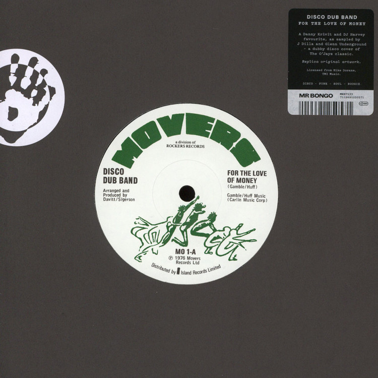 "Disco Dub Band - For The Love Of Money [7""]"