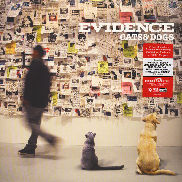 Evidence - Cats & Dogs [2LP]