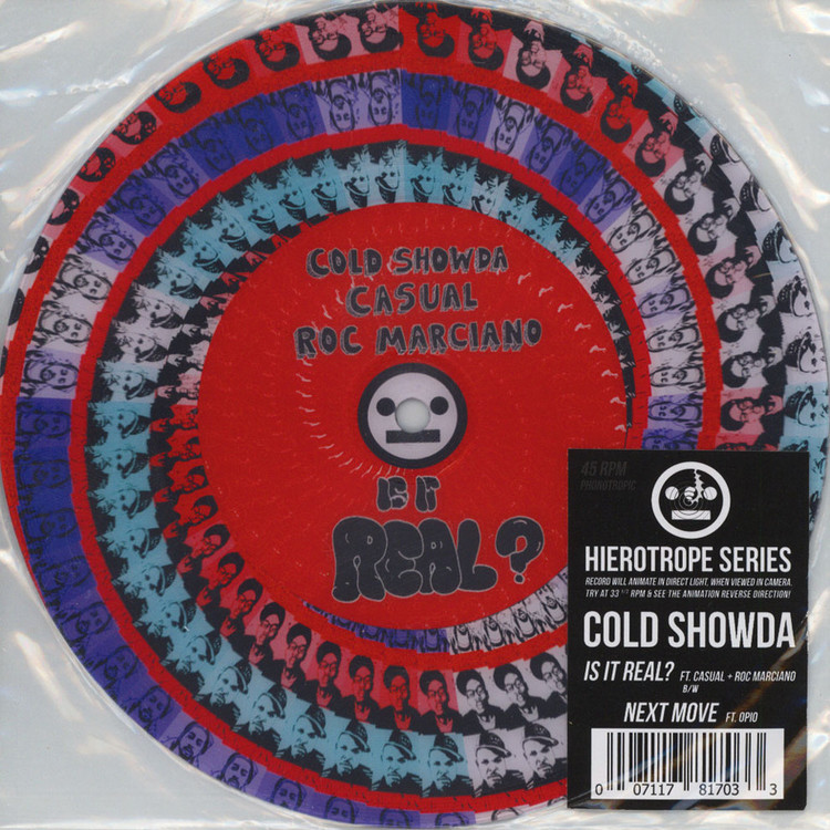 "Cold Showda - Is It Real (ft. Roc Marciano & Casual) [7""]"