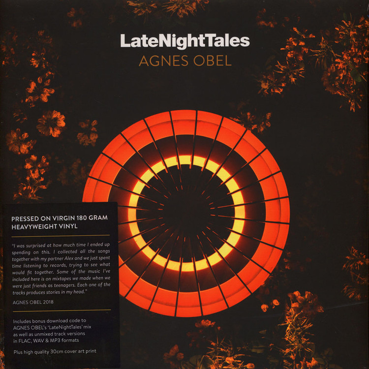 Agnes Obel - Late Night Tales (Gatefold Cover/ 180g 2LP+MP3) [2LP]