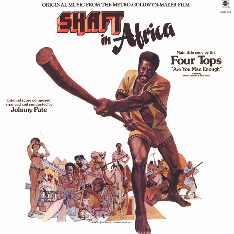 Johnny Pate - Shaft in Africa [LP]