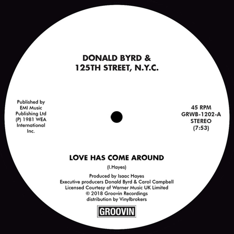 "Donald Byrd - Love Has Come Around/ I Feel Like Loving You Today [12""]"