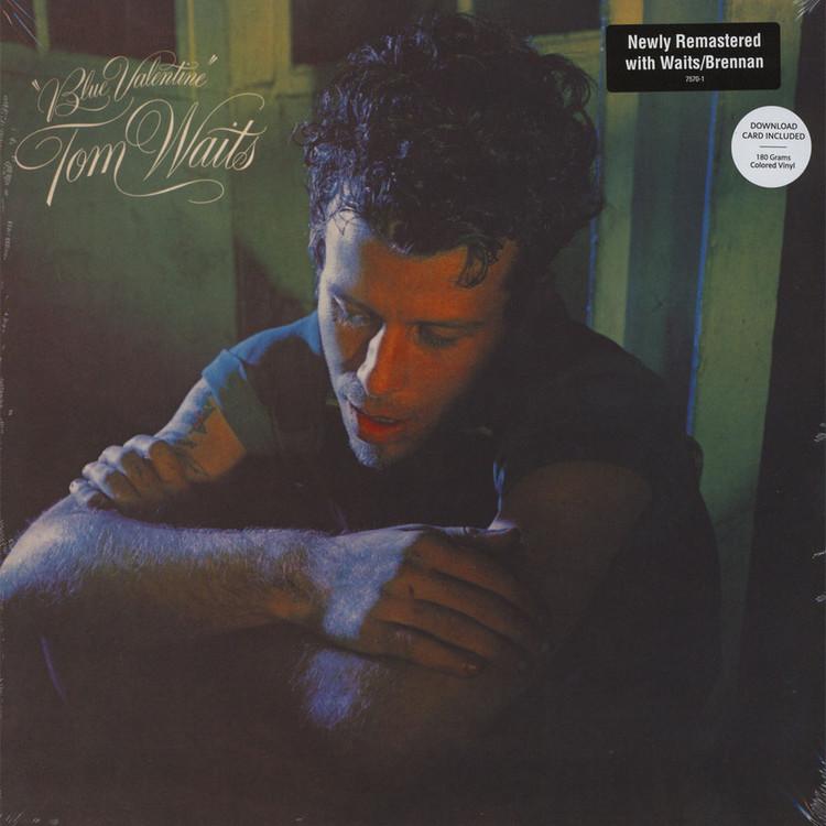 Tom Waits Blue Valentine 180g Colored Vinyl Edition Lp