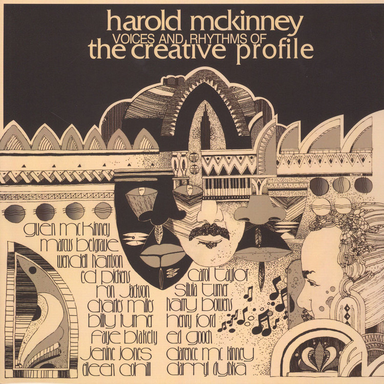 Harold McKinney - Voices & Rhythms Of The Creative Profile [LP]